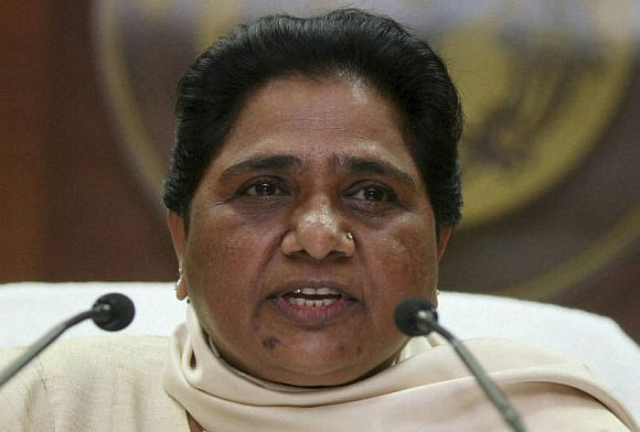 Mayawati boots out nearly half of sitting MLAs