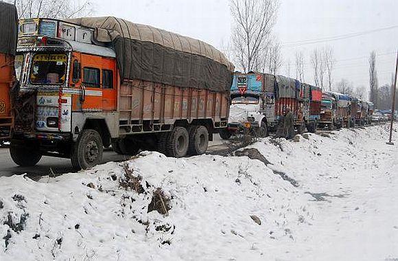 Kashmir cut off from rest of India