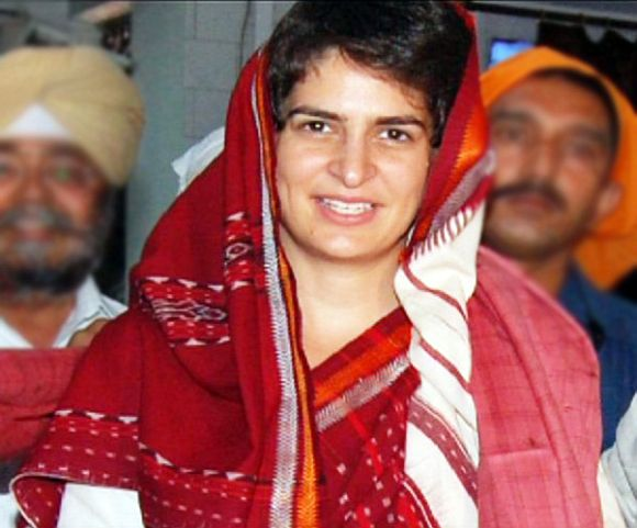 Priyanka Gandhi returns to campaign in Amethi, Rae Bareli