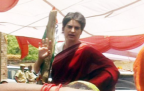'Priyanka has come here in response to the popular demand of the party'