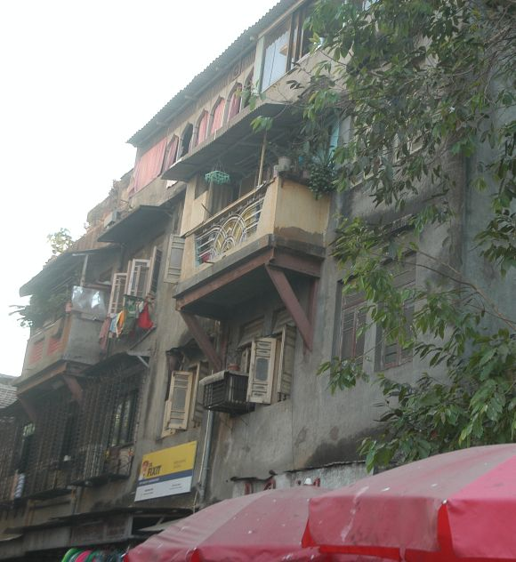 The building in which the 13/7 suspects stayed