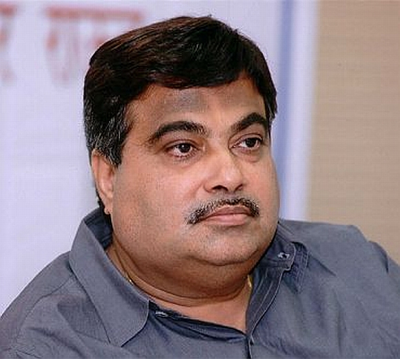 Bharatiya Janata Party President Nitin Gadkari at whose Nagpur home Yogita Thakre was found dead