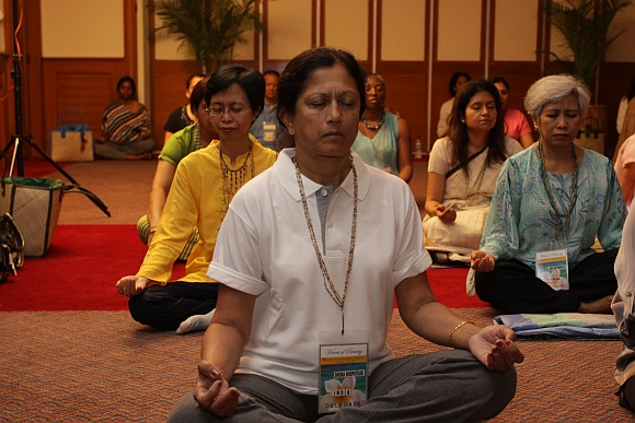 Re-discovering inner peace forms a key aspect at the International Women's conference