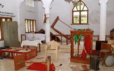 47 incidents of attacks on Church have been reported in Karnataka last year