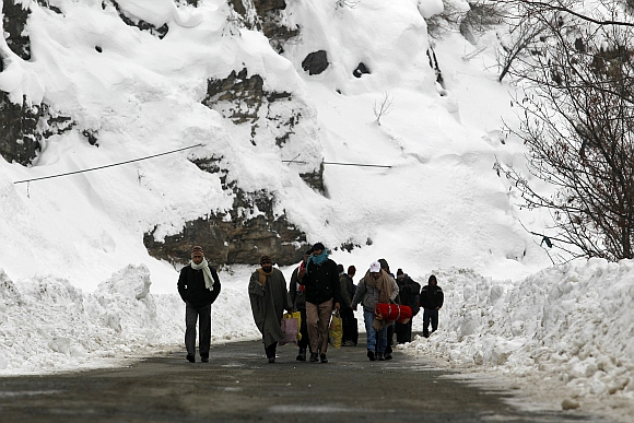 IN PICS: INDIA SHIVERS!