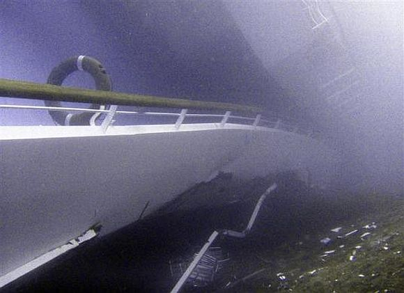 The final moments of Costa Concordia