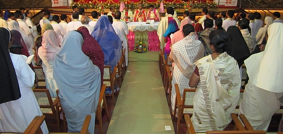 A celebration of Caritas India, a Catholic organisation