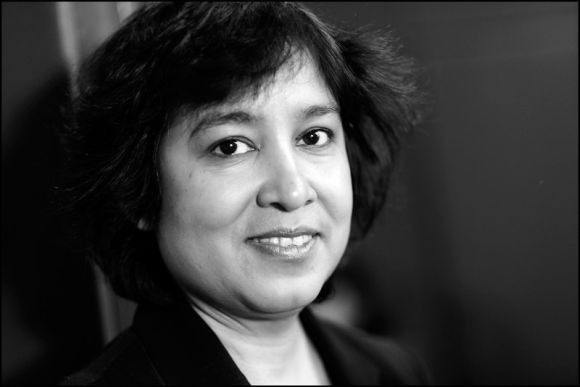 Noted Bangladeshi writer Taslima Nasreen