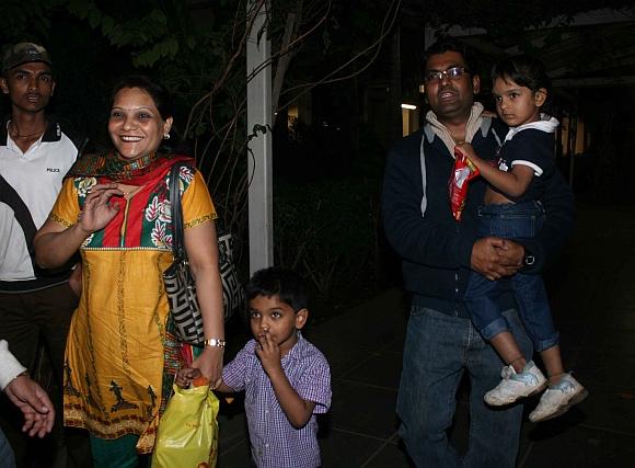 Bharat Paitankar with his family