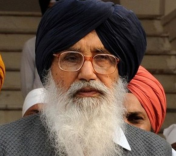 Parkash Singh Badal will be sworn-in as Punjab chief minister in Chandigarh on March 14