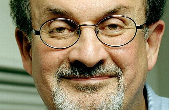 Noted author Salman Rushdie