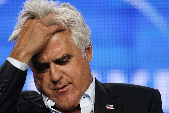 Talk show host Jay Leno