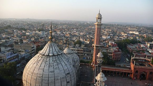 A file photo of the Jama Masjid in New Delhi