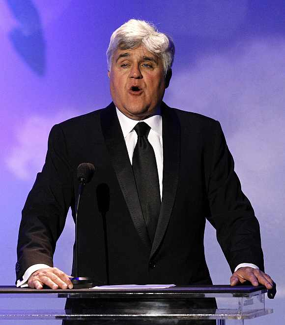 While working at McDonald's, Jay Leno had to clean up the ketchup spilt by someone else