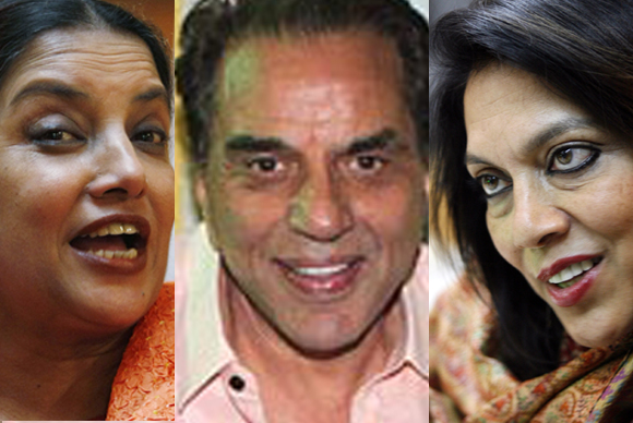 Padma Bhushan for Shabana Azmi, Dharmedra, Mira Nair