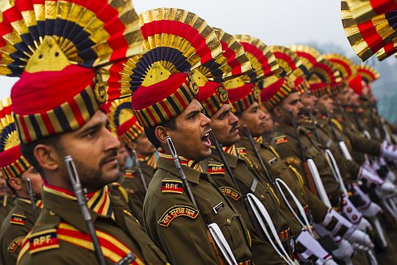 India all set to flex military muscle at R-Day parade