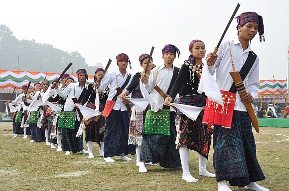 Northeast ignores threats, celebrates R-Day