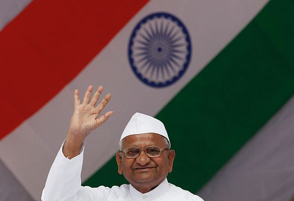 We need a new law which empowers the gram sabhas, Anna Hazare said on Thursday