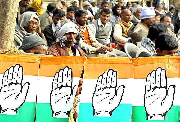 A Congress rally in Gorakhpur, UP to be addressed by Rahul Gandhi, MP.