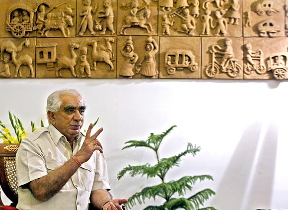 Former Union minister Jaswant Singh