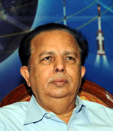 Former ISRO chairman Madhavan Nair
