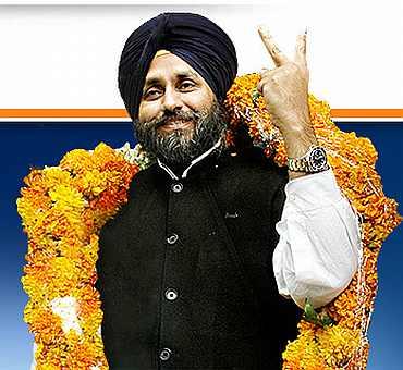 Punjab Deputy CM Sukhbir Singh Badal