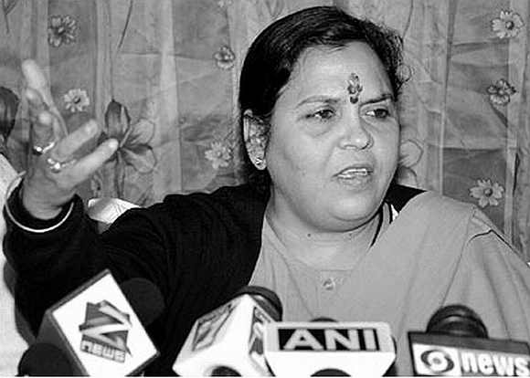 Uma Bharti is campaigning extensively in UP