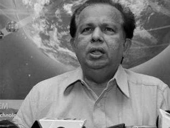 Former ISRO chief G Madhavan Nair