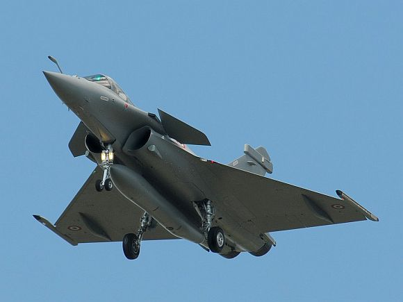 The Rafale fighter jet