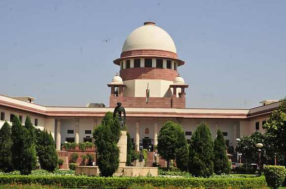 Supreme Court in New Delhi