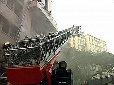 A file photo of the AMFRI fire