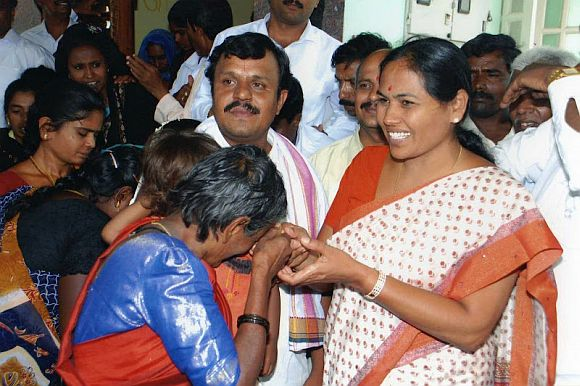 Why Shobha was in Mansarovar when Yeddy rocked BJP's boat