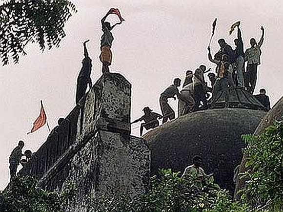 The Babri Masjid demolition