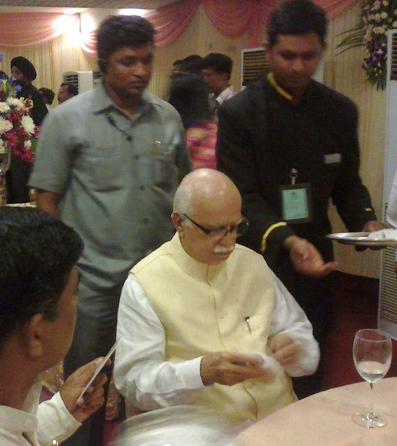 BJP leader L K Advani