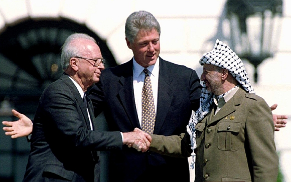 In PHOTOS: 8 HISTORIC handshakes of our times