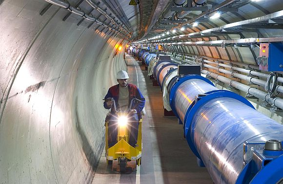 LHC Particle Collider at CERN