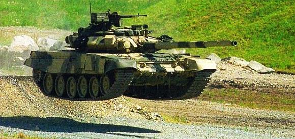 A Russian Т-90SМ tank