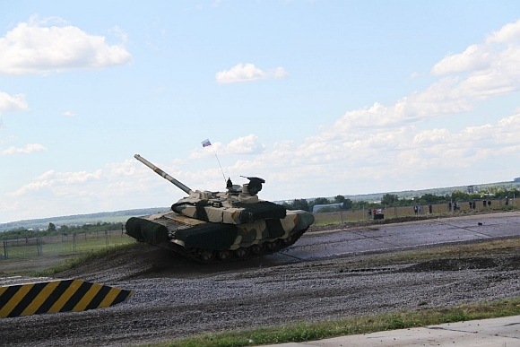 PHOTOS: Russian battle tanks perform a 'ballet'