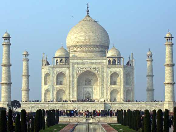 The Taj Corridor project was intended to upgrade tourist facilities near the Taj Mahal