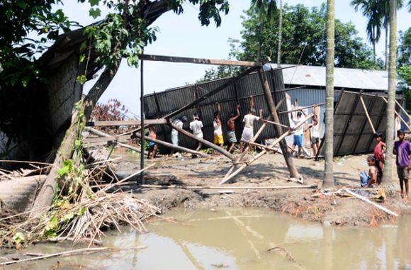 PIX: Agricultural sector worst hit in Assam floods