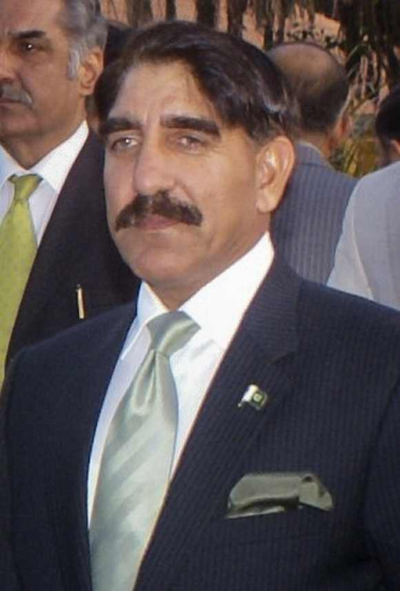 Pakistan's director-general of ISI Lieutenant-General Zaheer-ul-Islam attends a function in Karachi