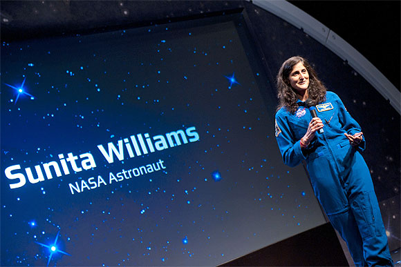 Indian American astronaut Sunita Williams