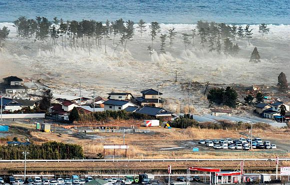 The Japanese earthquake and tsunami