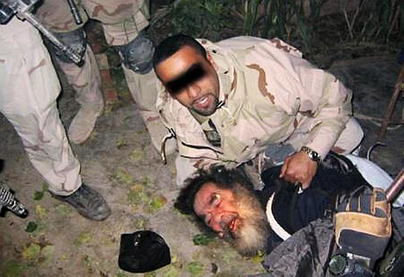 Capture and execution of Saddam Hussein