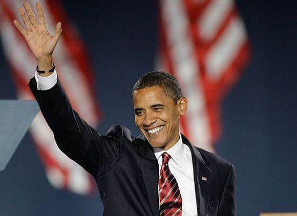 Barack Obama's Election Night speech of 2008