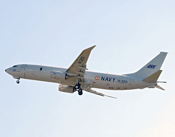 P-8I, the maritime reconnaissance and anti-submarine warfare aircraft
