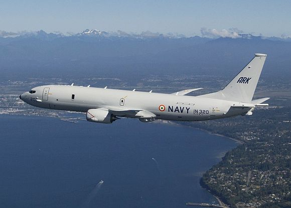 India's 1st P-8I aircraft takes off; delivery in 2013