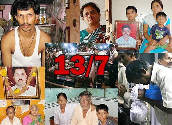 13/7 triple blasts, one year on