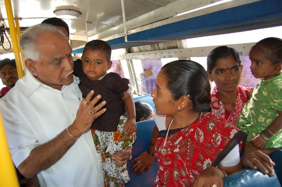 Yeddyurappa continues to rule