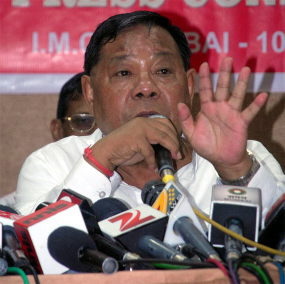 P A Sangma